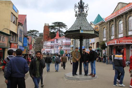 Mall Road Picture Of The Mall Shimla Tripadvisor
