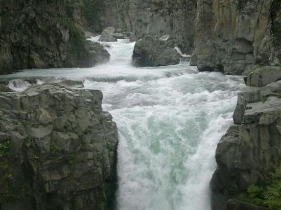 ‪‪Pulwama‬, الهند: Aharbal Waterfall‬
