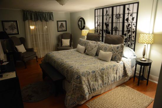 The Inn at Park Spring: Appartement-Zimmer, Obergeschoss. Schöner kann man kaum einschlafen