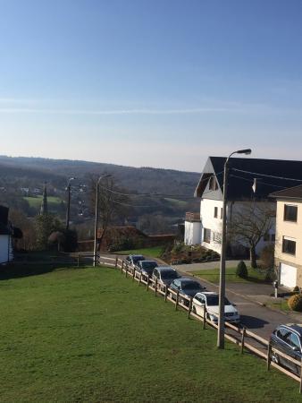 Eupen Inn: uitzicht vanaf de bovenverdieping