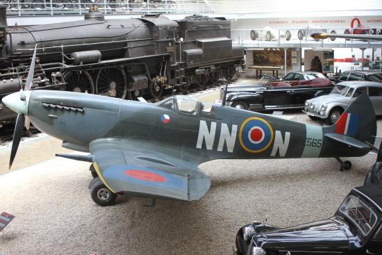 National Technical Museum: Spitfire, cars & locomotives