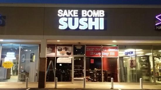 Sake Bomb Sushi