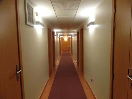 Hotel Espel: Pasillo habitaciones
