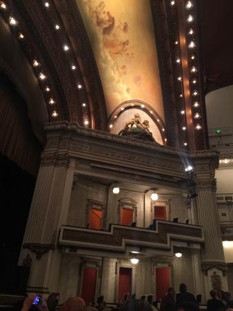 Spreckels Theater: View from 5th row