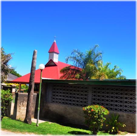 Iglesia de Moorea. Polinesia Francesa