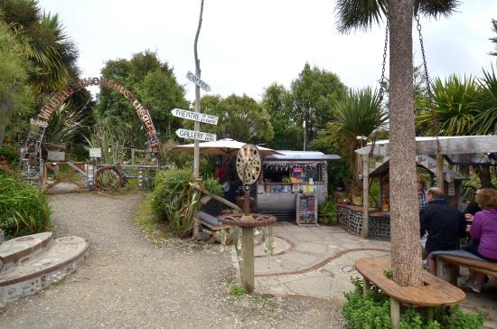 Papatowai, Nueva Zelanda: The coffee was one of the best we had in NZ
