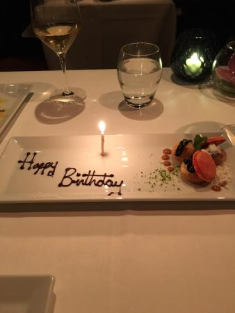 restaurants with birthday specials Birthday Meal   Picture of Benares Restaurant & Bar, London  restaurants with birthday specials