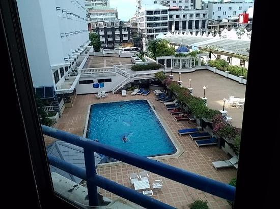 Caesar Palace Hotel: вид с нашего окна