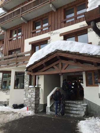 Hotel Ducs de Savoie : March 2016 Esprit Holiday - first day