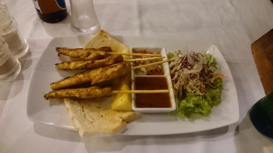 Sand Sea Resort Restaurant: Sand Sea - Chicken satay