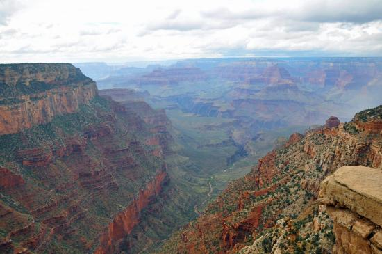 clouds and rain hovered near picture of yaki point grand canyon rh tripadvisor com