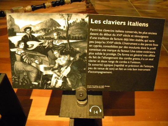Paris, Frankrig: Italian claviers
