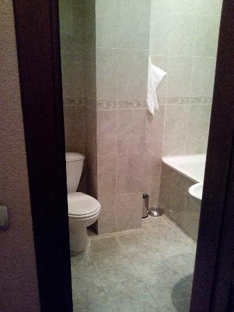 Hotel Magnat: номер 2. ванная (вид от входа)