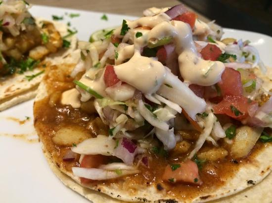 The Wild Creek Restaurant: Fish Tacos