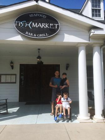 Fish Market In Baxter Village Has Outdoor Seating Also