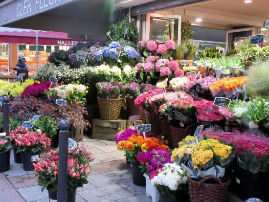 Cler Fleur Flower Shop Foto Van Rue Cler Parijs Tripadvisor
