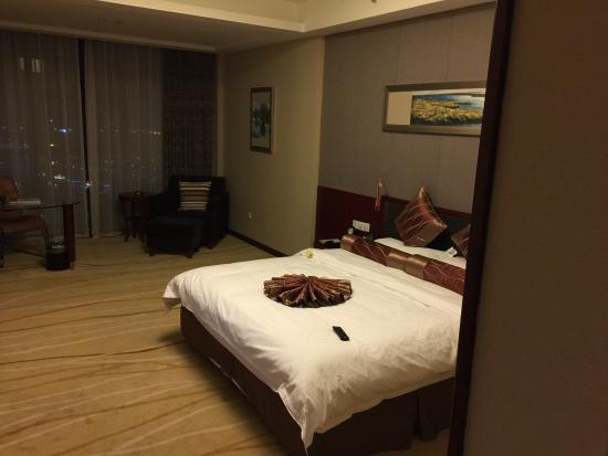 Laixi, Kina: Spacious room