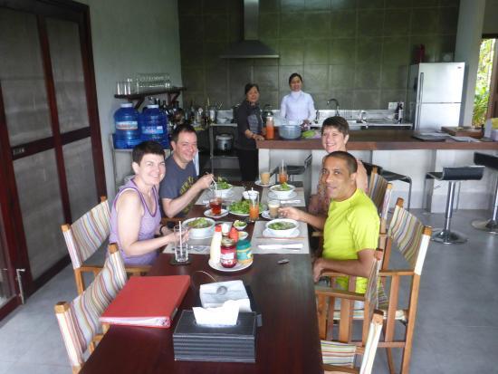 Villa @ Red Bridge: Breakfast at Red Bridge