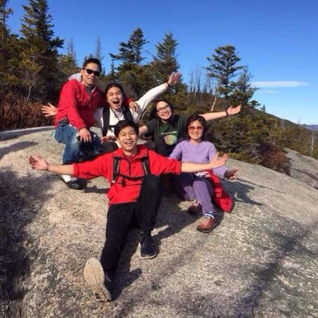 Белые горы, Нью-Гэмпшир: Dickey Mountain, NH, awesome for family time, Thank's Jesus. (Suoth's Family, 3/12/'16).