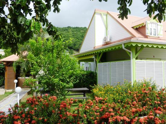 Jardin billede af residence simona deshaies tripadvisor for Jardin residence