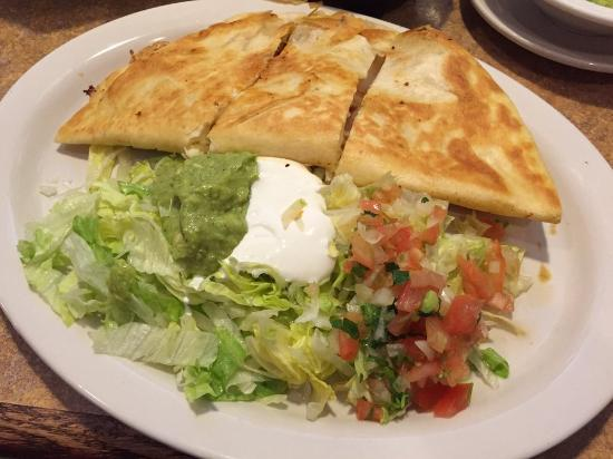 El Comal - Authetic Mexican Restaurant: Shrimp grande quesadilla $12.99