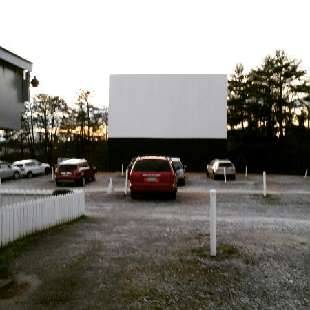 Swan Drive In IMG 20160313 195752 Large Watching Minion Movie From The Car Seats