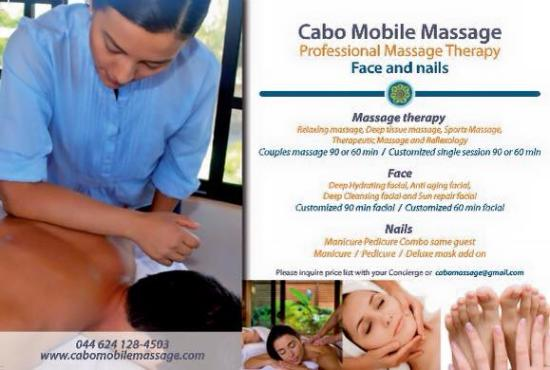 Cabo Mobile Massage