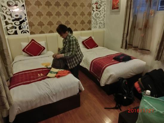 Hanoi Holiday Diamond Hotel: 泊まった部屋です。スタンダードルーム