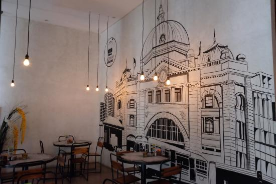 Melbourne Iconic Building - Picture of Melbourne Kitchen, Bandung ...
