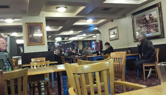 Kirkby, UK: A very beery pre holiday night out in our local.