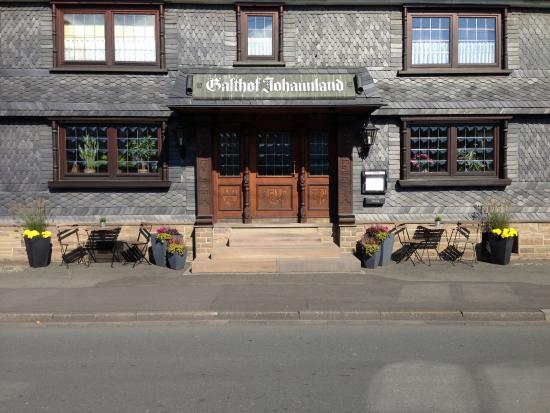 Netphen, Germany: Hier geht es in unsere Wirtsstube