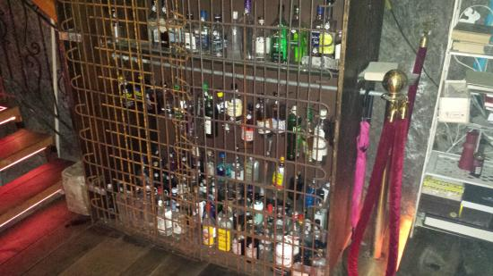 One of their cages filled with exotic gins