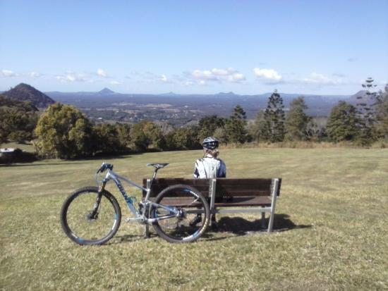 Kin Kin, Australien: view from top of Tablelands Rd, Cooran