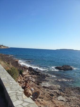Kavouri Beach: вид