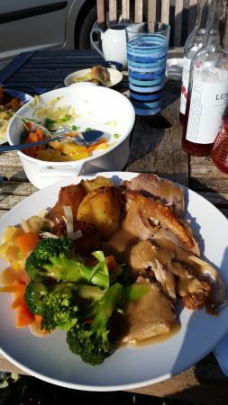 Hilltop Farm Shop: Sunday lunch