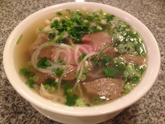 New Saigon: Pho Saigon (beef, tendon, tripe, and meatball)