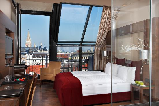 Fleming's Deluxe Hotel Wien-City: City-View Room