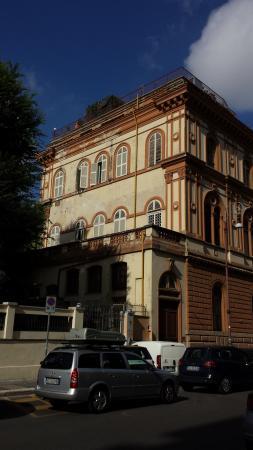 Villa Delle Rose Hotel: die villa von aussen