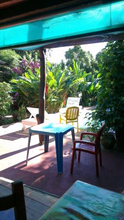 Garden Stone Hostel: breakfast