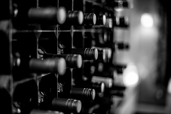 Best Western Dorset Oborne the Grange Hotel: Wine Rack in Dinning Room