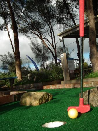 Auburn, Αυστραλία: Mini Golf @ Simpson Rices Creek