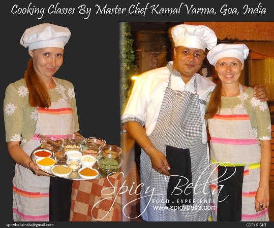 Indian Cooking Classes at Spicy Bella, palolem, Cancoana, Goa,