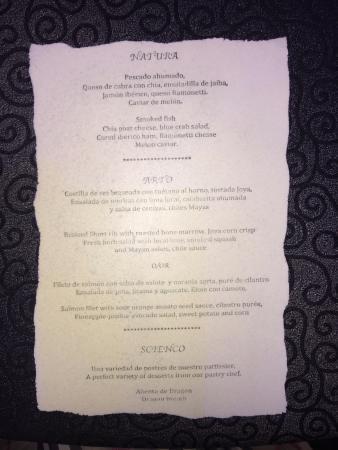 5305b0dab3ee menu mangeable - Photo de Cirque du Soleil Joya