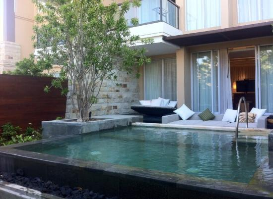 prestige suite with plunge pool picture of sofitel bali nusa dua beach resort nusa dua. Black Bedroom Furniture Sets. Home Design Ideas