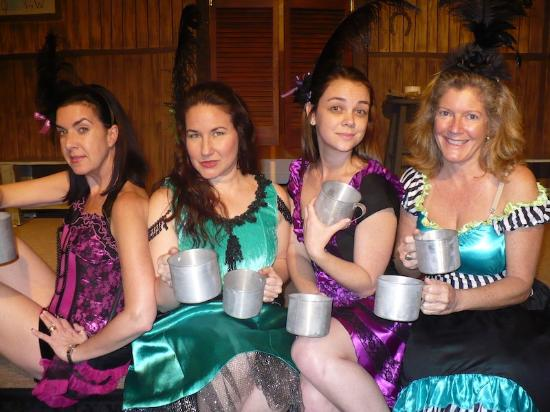 Island Theater Company: The Girls of the short Branch Saloon