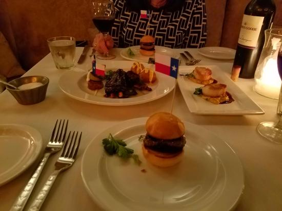 course 1 great food picture of lonesome dove western bistro rh tripadvisor com