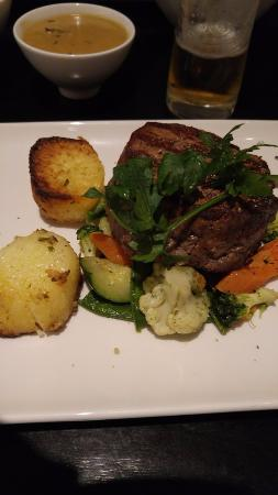 ... Scottish prime beef fillet. Seasoned potatos sautéed with rosemary