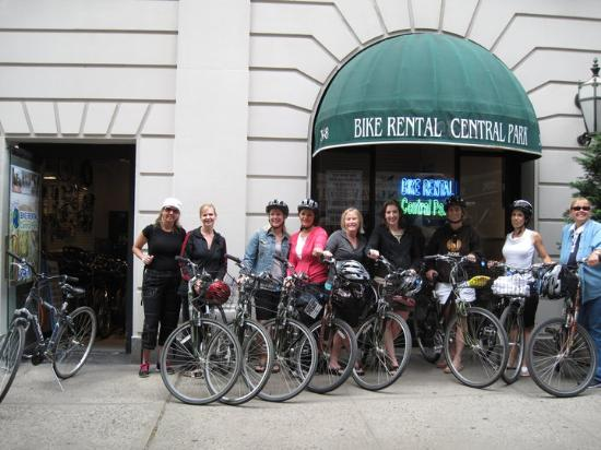 Bike Rental Central Park has New York tours! Did ya know?