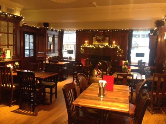 dining room - picture of the old white swan, york - tripadvisor