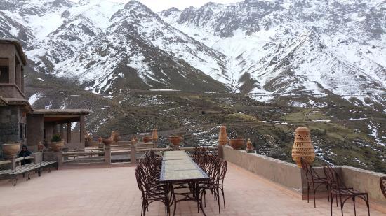 Tacheddirt, Marrocos: terrasse
